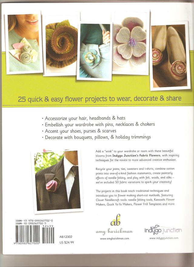 FABRIC FLOWERS BOOK. PAGE 2