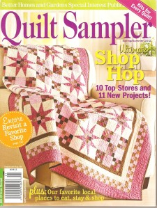 This is a back issue(Spring/Summer 2012) of Quilt Sampler. This quilting store above is featured in this issue - you might like to get hold of a copy to find out more